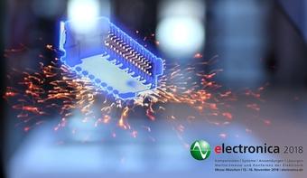 Zero8 Hologramm auf der electronica 2018