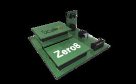 Zero8-Stecker verbinden Leiterplatten in unterschiedlicher Anordnung